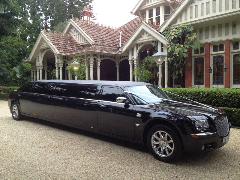 Hire a top of the line Chrysler stretch limousine at Limo Hire Melbourne Now