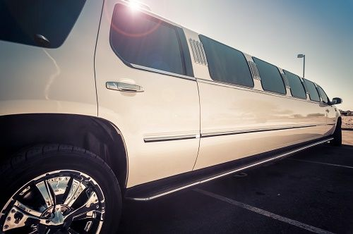One of Our White Limos